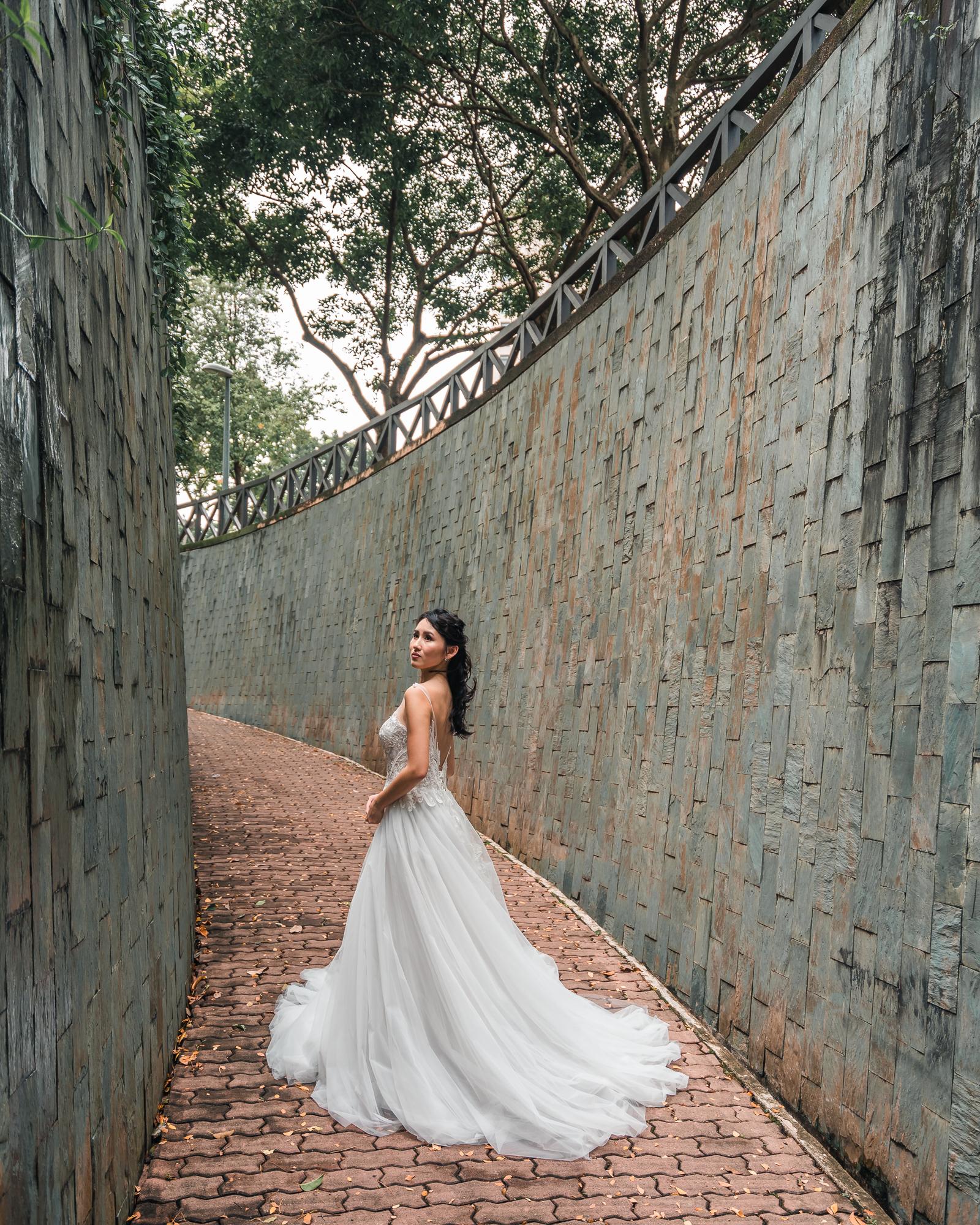 Grace Atelier Weddings @ Fort Canning Park