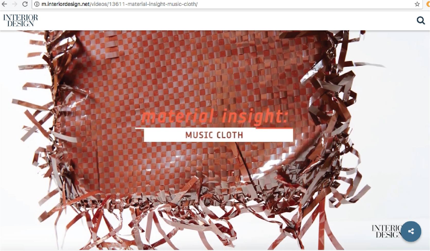 MusicCloth products