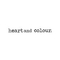 Profile heart and colour